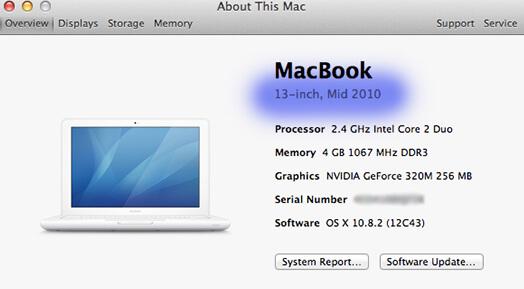 ภาพวิธีดูปีของ macbook,imac,ios